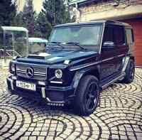 I want to rent your Mercedes G-Class from July 9-12