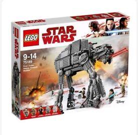 Lego Star Wars 75189 ATAT First Order Walker LAST JEDI NEW SEALED IN BOX