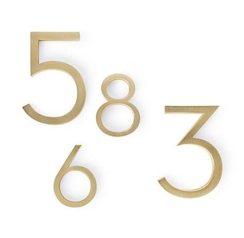Authentic House Industries Neutra Modern House Numbers | Design Within Reach