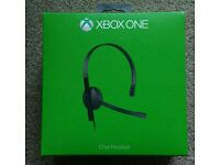 Xbox One Chat Headset - brand new
