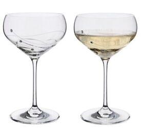 Dartington Crystal Champagne Glasses
