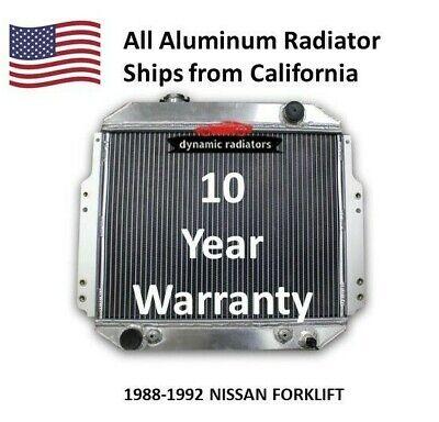 All Aluminum Radiator For Nissan Forklift 1988-1992 Hpr126 Oem 2146090h10
