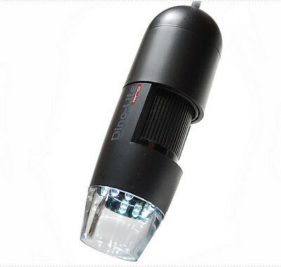 Dino Lite Am412n Portable Digital Microscope Camera With Av Video Tv Output