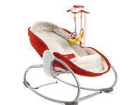 3 in 1 baby rocker with vibratory soothing