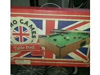 Brand new table pool