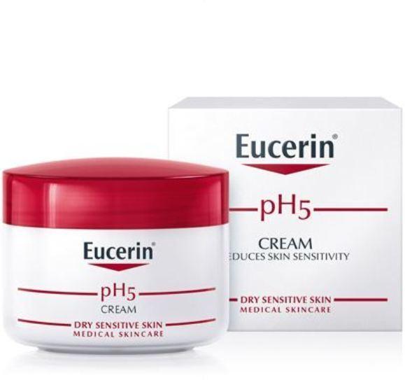 EUCERIN PH5 FACE CREAM FOR DRY SENSITIVE SKIN 75ML.