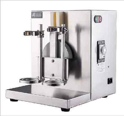 New Double-frame Auto Bubble Boba Tea Milk Shaker Shaking Making Machine