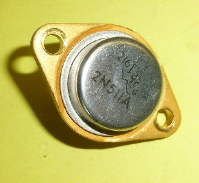 Leistungs Transistor 2N511A GERMANIUM PNP  40V 25A 150W