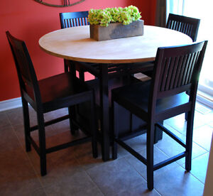 Crate and Barrel 5 Piece Dining Set