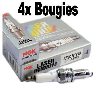 4x BOUGIE NGK IRIDIUM RACING RENAULT CLIO IV 1.6 TURBO RS 200ch