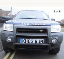 Land Rover freelander Auto diesel price reduced for quick sale
