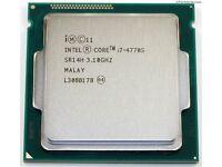 Intel i7 Processors - i7-2600 and i7-4770S CPU
