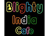 Looking for modern Indian food business partner/tenant