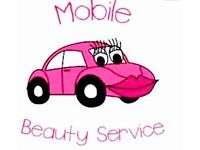 Fully qualified mobile hairdressers and Beauty therapists in Glasgow