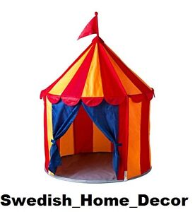 IKEA-KIDS-CIRCUS-TENT-CIRKUSTALT-NEW-GREAT-PLAY-ROOM-POP-UP-Toy