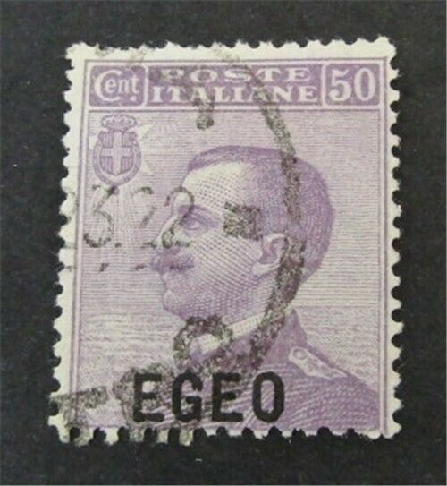 Nystamps Italy Aegean Islands Stamp 2 Used 35 - $3.80