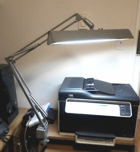 Vintage 1960s Mid Century Canadian Made Luxo Architect Desk Lamp