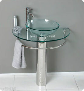 modern-Bathroom-vanities-pedestal-vessel-glass-furniture-sink-w-bath-faucet-01