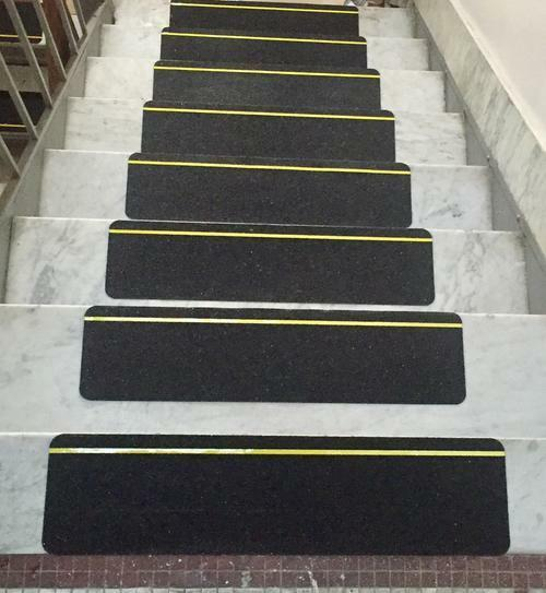 "6"" Anti Slip Grip Tape Non Skid Reflective Stripe Stair Step"