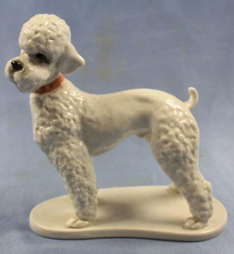 poodle figurine porcelain pudel volkstedt porcelainfigurine dog