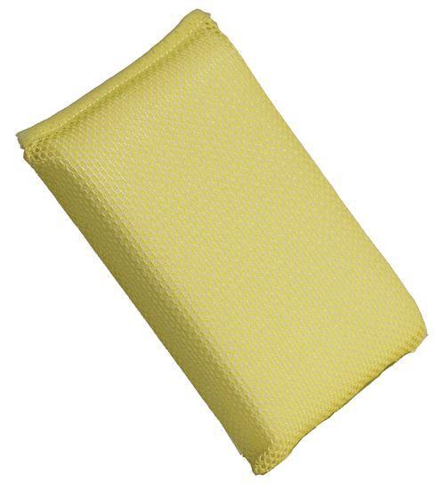 Buff & Shine 335 Yellow Net Bug Sponge (Box of 10) BSA57