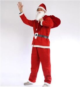 Kit costume père noel 5mx NEUF/Santa Claus costume set 5pcs NEW