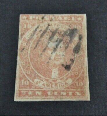 nystamps US CSA Confederate Stamp # 5 Used $500   L23x1636