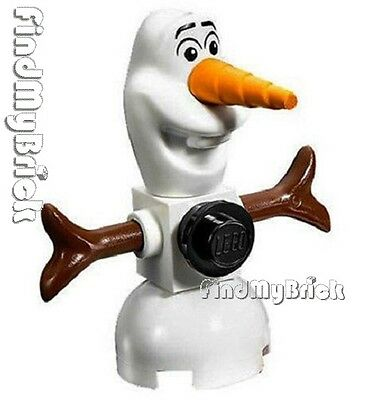 M758 Lego Frozen Elsa's Sparkling Ice Castle Snowman Olaf Minifigure 41062 41068