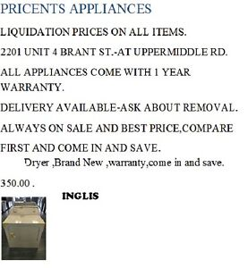 Washer/Dryer And Other Appliance Parts Of All Sorts Available... Oakville / Halton Region Toronto (GTA) image 4