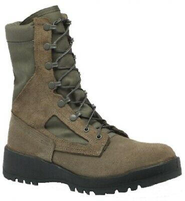 BELLEVILLE AFTW MENS AIR FORCE TEMPERATE WEATHER COMBAT BOOTS GORE-TEX GREEN ()