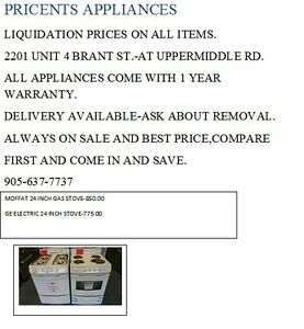 Stoves,Fridges,Washer/Dryers,Dishwashers,liquidation prices Oakville / Halton Region Toronto (GTA) image 5
