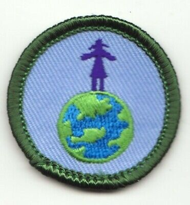 Girl Scout Junior Badge - HIGH ON (Junior Girl)