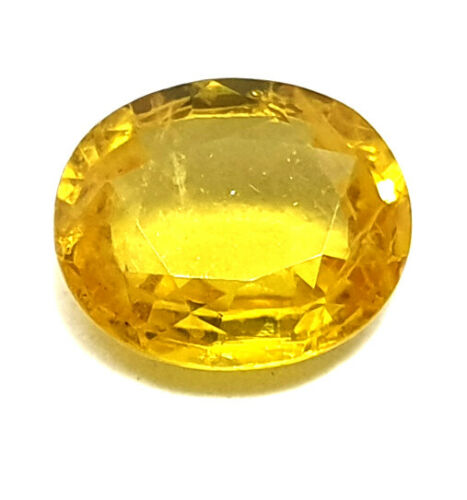 3.10 Ct Certified Natural Yellow Sapphire Super Premium Quality Loose Gemstone