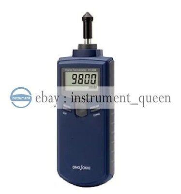 Ono Sokki Ht-3200 Contact Type Handheld Digital Tachometer New