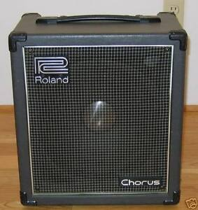 Vintage Roland Cube 60 Chorus Amp Amplifier - Made in JAPAN