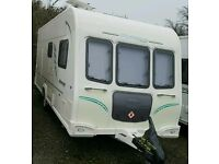 2011 Fixed bed caravan with air awning