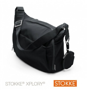 STOKKE XPLORY - Changing bag black - Sac à langer noir