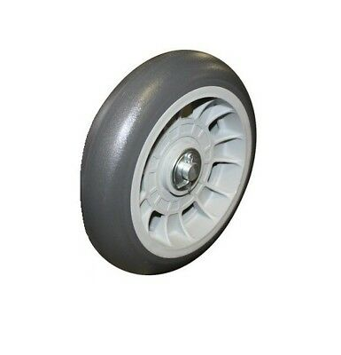 Offset Hub Hand Truck Tire Balloon Cushion 8 Rubber 58 Id Non-marking