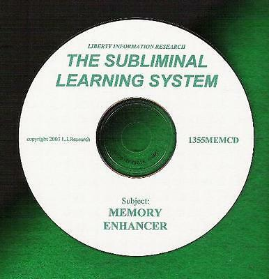 Improve Your Memory Subliminal Learning System