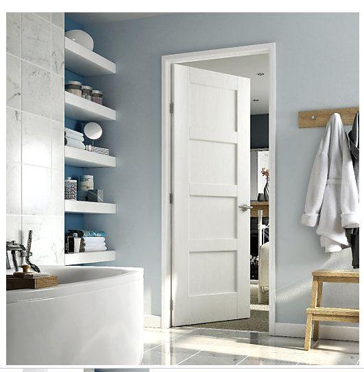 Plain White Interior Doors exellent 4 panel white interior doors inside decorating ideas