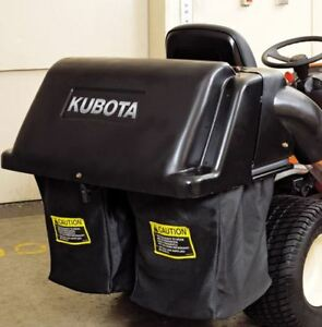 QUICK-ATTACH GRASS CATCHER for KUBOTA GARDEN TRACTOR lawn mover