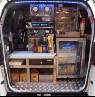 Near New Coffee Van for Sale