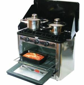 Propane cook stove and oven by Flamineta