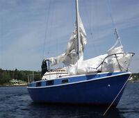 26' Tanzer. Extensive Sail Inventory. CLEARANCE