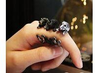 Adjustable dachshund ring