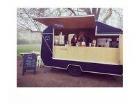 Mobile coffee caravan