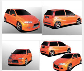 Ibher Design Fiat Punto Diablo Full wide arch body kit Bumpers Sides Arches