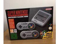 Brand new in box! Super Nintendo Classic Mini SNES