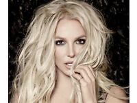 Britney Spears at the 02 ARENA on Saturday 25th August - Floor seats - amazing seats
