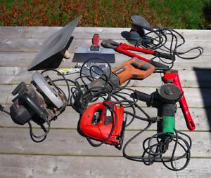 Workshop of various tools